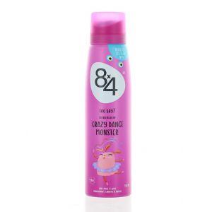 8x4 Spray deodorant 150 ml Crazy Dance Monster