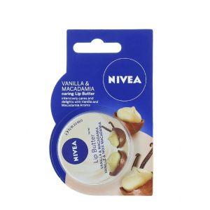 Nivea Balsam de buze 19 ml Vanilla & Macadamia