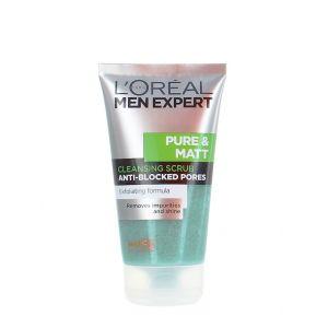 L'oreal Men Expert Scrub pentru fata 150 ml Pure&Matt