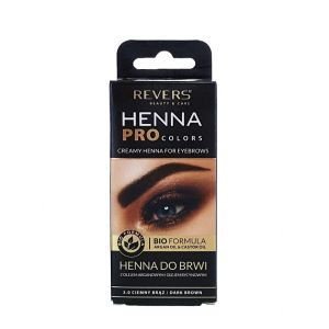 Revers Henna pentru sprancene 15 ml Dark Brown