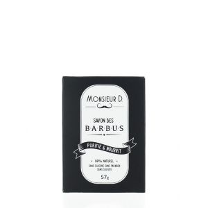 Monsieur D Sapun pentru barba 57 g  Purifie & Nourrit