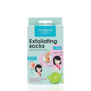 Marion Tratament pentru exfolierea picioarelor 2x20 ml Lime Extract