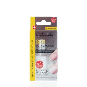 Eveline Tratament Unghii 12 ml Silver Shine 8 in1