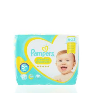 Pampers scutece nr.5+ 12-17 kg 32 buc Premium Protection