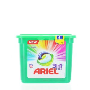 Ariel Detergent Capsule 3in1 22 buc Color