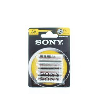 Sony Baterii R6 4buc Ultra Heavy Duty (AA Zinc)