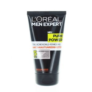 L'oreal Men Expert Gel de curatare fata barbati 150 ml Pure Power(negru)