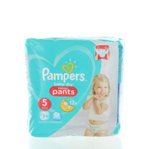 Pampers scutece chilotel nr.5  12-17 kg 24 buc Baby-Dry
