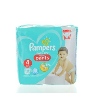 Pampers scutece chilotel nr. 4 9-15 kg 27 buc Baby-dry