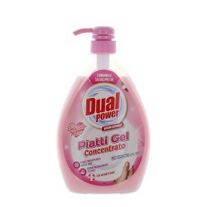 Dual Power detergent pentru vase cu pompa 1000 ml Delicato Mani