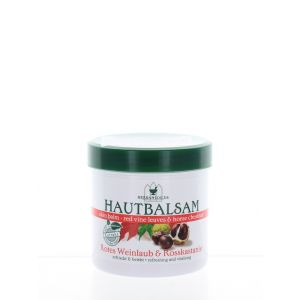 Herbamedicus Balsam cu extract de frunze rosii de vita si castane 250 ml