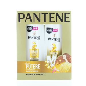 Pantene caseta: Sampon+Balsam de par 250+200 ml Repair & Protect