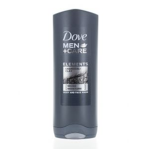 Dove Gel de dus barbati 250ml Men+Care Charcoal&Clay