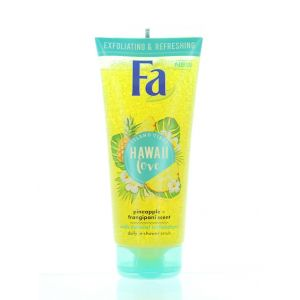 Fa Gel de dus exfoliant 200 ml Hawaii Love