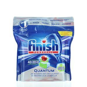 Finish Tablete pentru masina de spalat vase 40 buc Quantum Graisses