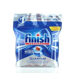 Finish Tablete pentru masina de spalat vase 40 buc Quantum