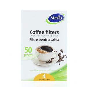 Stella Filtre pentru cafea 50 buc Nr:4