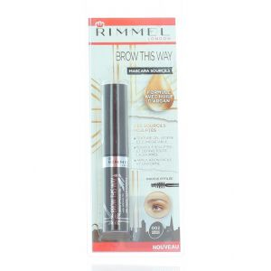 Rimmel Mascara pentru sprancene 5 ml nr:002 Medium Brown