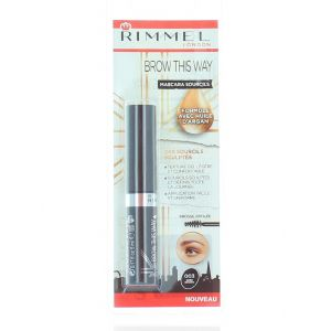 Rimmel Mascara pentru sprancene 5 ml nr:003 Dark Brown