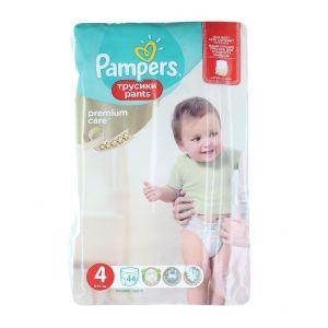 Pampers scutece chilotel nr.4  8-14 kg 44 buc Premium Care