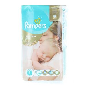 Pampers New Baby nr.1  2-5 kg 54buc Premium Care