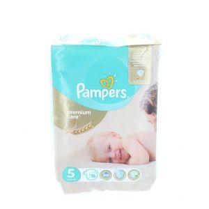 Pampers scutece nr.5 11-18 kg 16 buc Premium Care