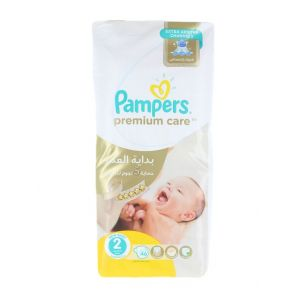 Pampers New Baby nr.2 3-6 kg 46 buc Premium Care