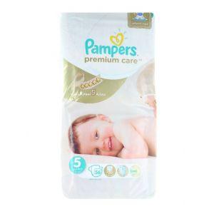 Pampers scutece nr.5 11-18 kg 56 buc Premium Care