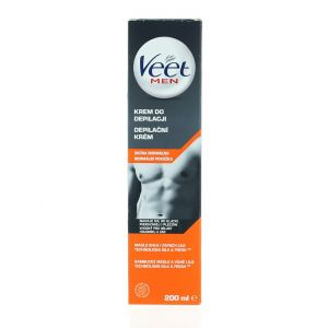 Veet Crema depilatoare pentru barbati 200 ml Normal