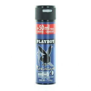 Playboy Spray deodorant barbati 200 ml King Of The Game