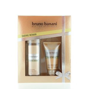 Bruno Banani Caseta femei:Spray natural+Lotiune de corp 75+50 ml Daring Woman