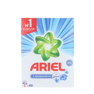 Ariel Detergent automat in cutie 450 g Touch Of Lenor (3 spalari)