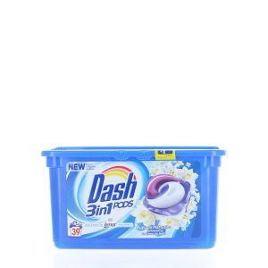 Dash Detergent Capsule 39 buc 3in1 Lenor Fraicheur du Matin