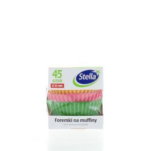 Stella Forma Colorata Muffin 45 buc Cutie