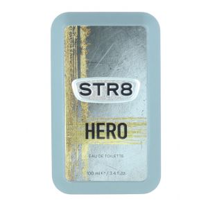 STR8 Parfum in cutie metalica 100 ml Hero (Design Vechi) (EXP: 28-02-2021)