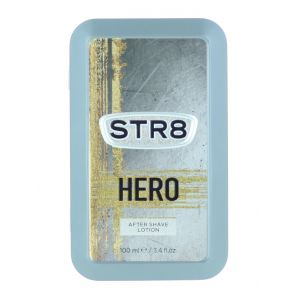 STR8 After Shave in cutie metalica 100 ml Hero (Design Vechi)