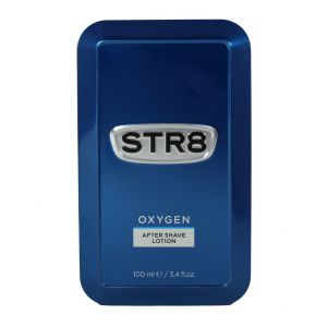 STR8 After Shave in cutie metalica 100 ml Oxygen (Design Vechi)
