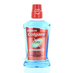 Colgate Apa de gura 500 ml Total 12HR Protection Peppermint Blast