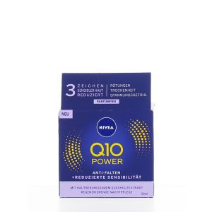 Nivea Crema de noapte 50 ml Q10 Power
