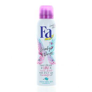 Fa Spray deodorant 150 ml Lovely Wings