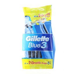 Gillette Aparat de ras Blue 3 4+2 buc