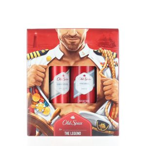 Old Spice Caseta:Spray deodorant+Gel de dus 150+250 ml Original
