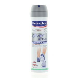 Hansaplast Spray Deodorant pentru picioare 150 ml Silver Active
