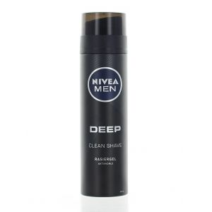 Nivea Gel de ras 200 ml Deep Black
