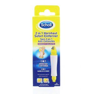 Scholl Tratament pentru piele aspra 9 ml 2in1