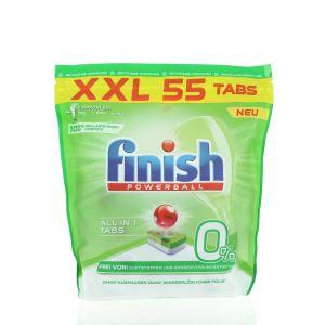 Finish Tablete pentru masina de spalat vase 55 buc All In1  O%