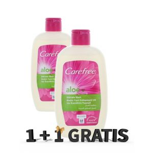 Carefree Gel intim 200 ml Aloe(exp.03.2020) 1+1 GRATIS