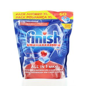 Finish Tablete pentru masina de spalat vase 60 buc All in 1 Max