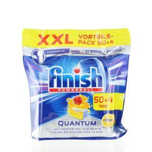 Finish Tablete pentru masina de spalat vase 50+4 buc Quantum powerball citrus