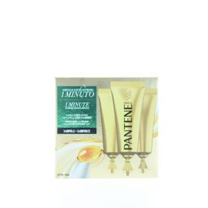 Pantene Tratament fiole de par 3X15 ml 1 Minute Smooth